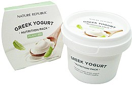 Духи, Парфюмерия, косметика Ежедневная питательная маска для лица - Nature Republic Greek Yogurt Nutrition Pack Plain