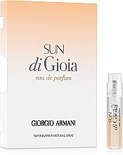 Духи, Парфюмерия, косметика Giorgio Armani Sun di Gioia - Парфюмированная вода (пробник)