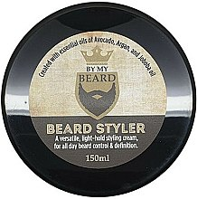 Парфумерія, косметика Стайлінговий крем для бороди - By My Beard Beard Styler Light Hold Styling Cream