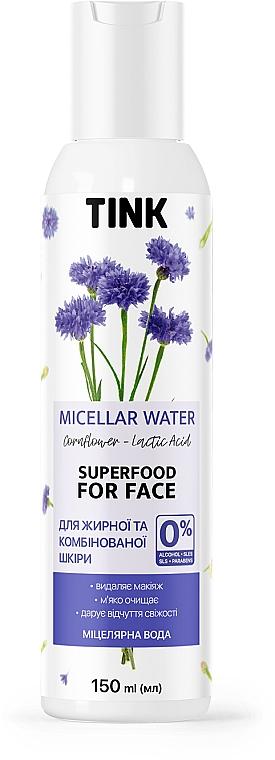 Мицеллярная вода с экстрактом василька и молочной кислотой - Tink Micellar Water