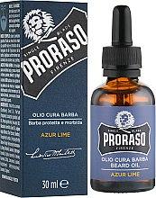Духи, Парфюмерия, косметика Масло для бороды - Proraso Azur Lime Beard Oil