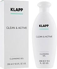 Духи, Парфюмерия, косметика Очищающий гель - Klapp Clean & Active Cleansing Gel