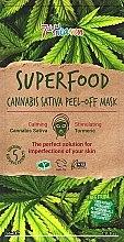 Духи, Парфюмерия, косметика Маска-пленка для лица с маслом конопли - 7th Heaven Superfood Cannabis Sativa Peel-Off