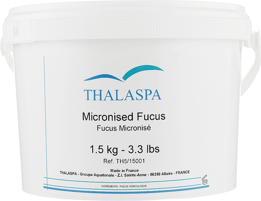 "Микронизированная водоросль ""Фукус"", маска-пудра - Thalaspa Micronised Fucus"