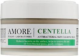 Духи, Парфюмерия, косметика Концентрированная маска с экстрактом центеллы для лечения проблемной кожи - Amore Centella Antibacterial Clearing Mask
