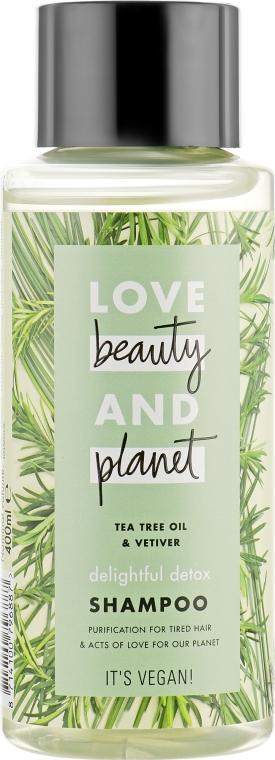 """Шампунь для волос """"Восхитительный детокс"""" - Love Beauty&Planet Delightful Shampoo"""
