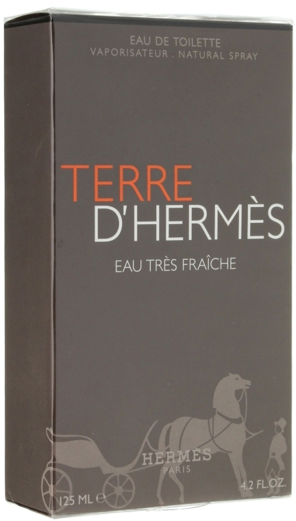 Hermes Terre d'Hermes Eau Tres Fraiche - Туалетна Вода (тестер з кришечкою) — фото N1