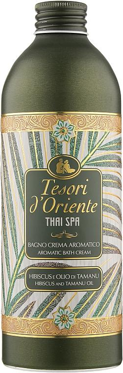 """Крем-гель для ванны и душа """"Гибискус и масло таману"""" - Tesori d`OrienteThai Spa Hibiscus And Tamanu Oil Aromatic Bath Cream"""