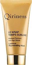 Духи, Парфюмерия, косметика Глобальная анти-возрастная омолаживающая маска - Qiriness Le Wrap Temps Sublime Masque Premium Anti-Age Global