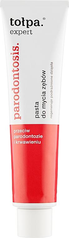 Зубная паста от пародонтоза - Tolpa Expert Parodontosis Eco Toothpaste
