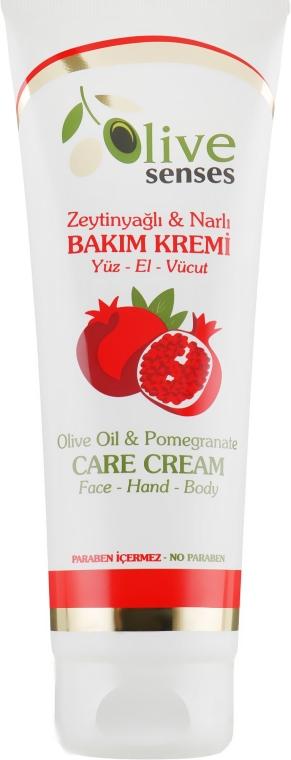 Крем для лица и тела, оливковое масло и гранат - Selesta Senses Olive Oil Care Cream Face/Hand/Body