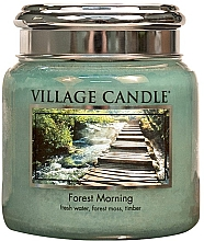 """Духи, Парфюмерия, косметика Ароматическая свеча в банке """"Лесное утро"""" - Village Candle Forest Morning"""