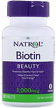 Духи, Парфюмерия, косметика Биотин, 1000 мкг - Natrol Biotin Beuty