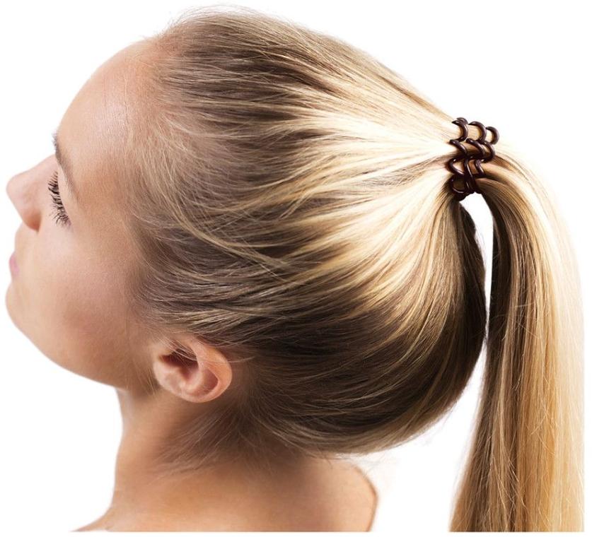 Резинка для волос - Invisibobble Chocolate Brown — фото N4