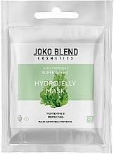 Духи, Парфюмерия, косметика Маска гидрогелевая для лица - Joko Blend Super Green Hydrojelly Mask