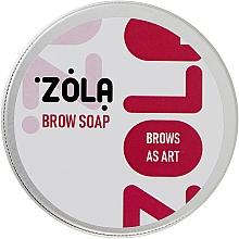 Духи, Парфюмерия, косметика Мыло для бровей для фиксации волосков - Zola
