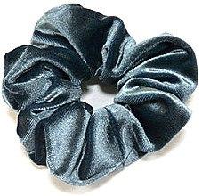 Духи, Парфюмерия, косметика Резинка для волос велюровая P1600-3, 11 см d-5,5 см, темно-бирюзовая - Akcent