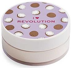 Духи, Парфюмерия, косметика Рассыпчатая пудра для лица кокосовая - I Heart Revolution Loose Baking Powder Coconut