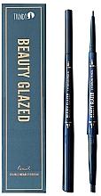 Духи, Парфюмерия, косметика Карандаш для бровей - Beauty Glazed Double Head Eyebrow Pencil