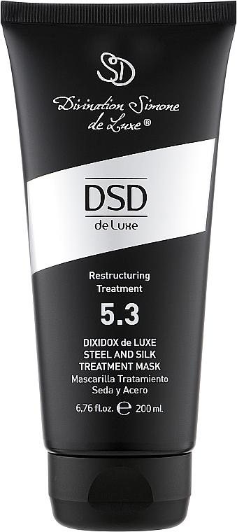 Відновлююча маска - Divination Simone De Luxe Dixidox DeLuxe Steel and Silk Treatment Маѕк — фото N1