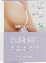 Духи, Парфюмерия, косметика Набор для увеличения объема грудей «Бюст Плюс» - Bema Cosmetici BemaBioBody (serum/5ml + cr/10ml)