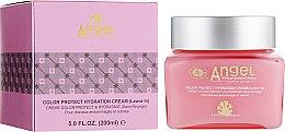 Духи, Парфюмерия, косметика Увлажняющий крем для окрашенных волос - Angel Professional Paris Color Protect Cream