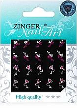 Духи, Парфюмерия, косметика Наклейки для дизайна ногтей, fda-215 - Zinger Nail Art Sticker