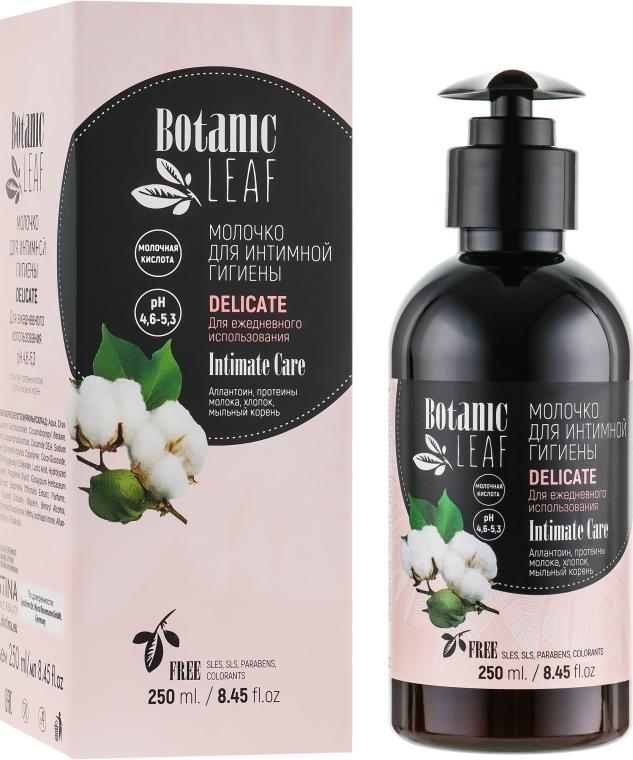 Молочко для интимной гигиены для ежедневного использования - Botanic Leaf Sensetive Intimate Milk