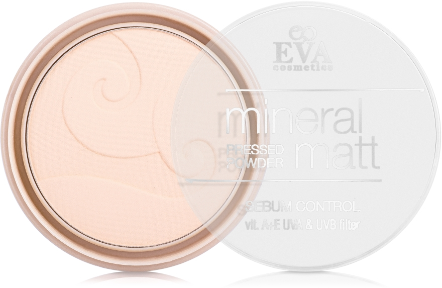 Компактная пудра - Eva Cosmetics Mineral Matte Powder