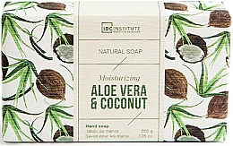 Духи, Парфюмерия, косметика Мыло - IDC Institute Moisturizing Hand Natural Soap Aloe Vera & Coconut