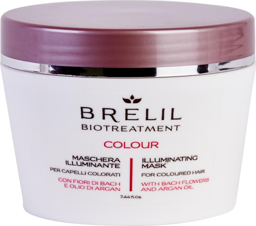 Маска для окрашенных волос - Brelil Bio Treatment Colour Illuminating Mask