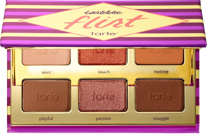 Палетка теней для век - Tarte Cosmetics Tartelette Flirt Eyeshadow Palette
