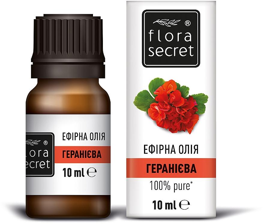 Эфирное масло гераниевое - Flora Secret