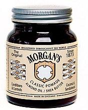 Духи, Парфюмерия, косметика Классическая помада с миндальным маслом и маслом ши - Morgan`s Classic Pomade