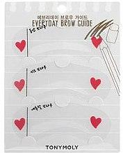 Духи, Парфюмерия, косметика Трафареты для макияжа бровей - Tony Moly Everyday Brow Guide