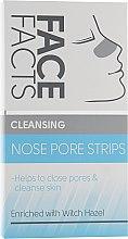 Духи, Парфюмерия, косметика Очищающие полоски для носа - Face Facts Cleansing Nose Pore Strips