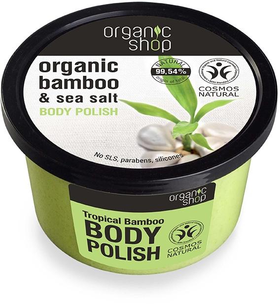 """Скраб для тела """"Тропичный бамбук"""" - Organic Shop Bamboo & Sea Salt Body Polish"""