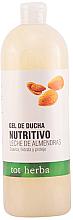 Духи, Парфюмерия, косметика Гель для душа - Tot Herba Shower Gel Almond Milk