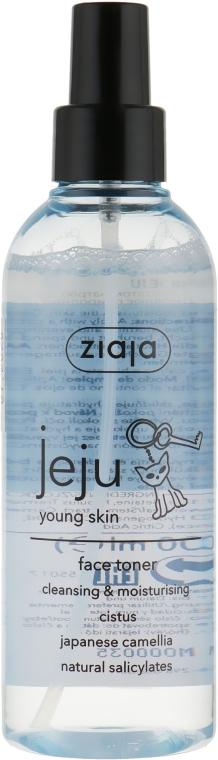 Тоник для лица очищающий поры - Ziaja Jeju