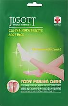 Духи, Парфюмерия, косметика Очищающая маска-носочки для ног - Jigott Foot Peeling Care Clean & Moisturizing Foot Pack