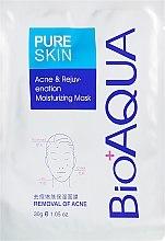 Духи, Парфюмерия, косметика Маска для подростковой кожи - BioAqua Pure Skin Acne & Rejuvenation Moisturizing Mask