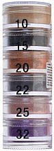 Духи, Парфюмерия, косметика Тени рассыпчатые пирамида 6 цветов - Cinecitta Pyramid Powder Eye Shadows №10-32