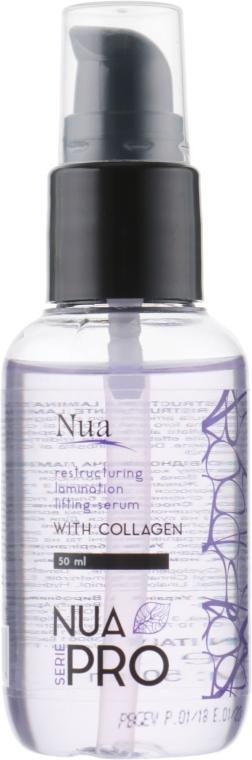 Восстанавливающая ламинированная лифтинг-сыворотка c коллагеном - Nua Pro Lamination Lifting with Collagen Serum