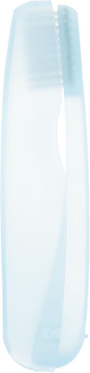 """Дорожный набор """"Отбеливание плюс"""", голубой - SPLAT (toothbrush/1шт + toothpaste/40ml) — фото N4"""