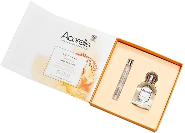 Acorelle Fleur de Vainilla - Набор (edp/50ml + parfum/roll-on/10ml)