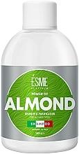 Духи, Парфюмерия, косметика Шампунь для всех типов волос с миндальным маслом - Esme Power of almond Shampoo