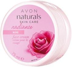 """Духи, Парфюмерия, косметика Увлажняющий крем для лица """"Лепестки розы. Сияние"""" - Avon Naturals"""