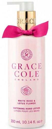 Лосьон для рук - Grace Cole White Rose & Lotus Flower Hand Lotion