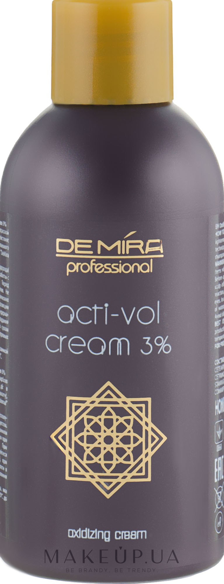 Окисляющая эмульсия 3% - Demira Professional Acti-Vol Cream — фото 120ml