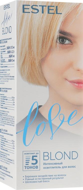 Интенсивный осветлитель для волос - Estel Professional Love Blond